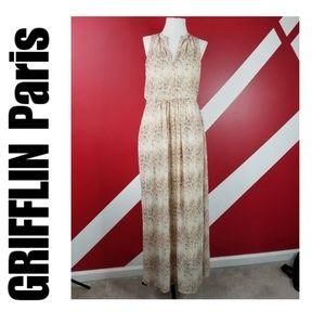 Grifflin Paris sleevless maxi with Pockets size M